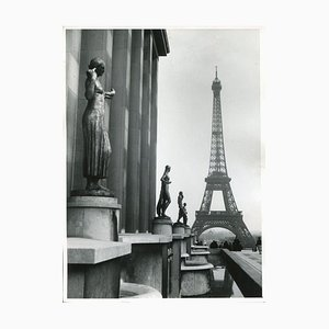 Eiffel Tower Paris, 1955