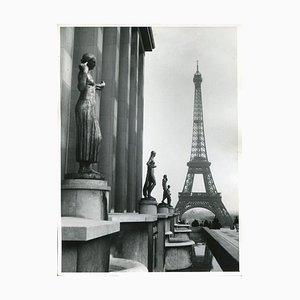 Pariser Eiffelturm, 1955