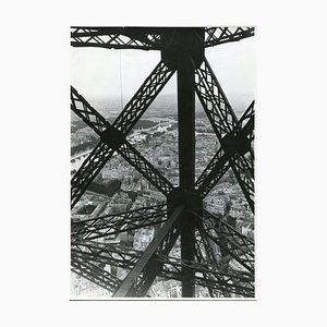 Eiffel Tower, Paris, 1955