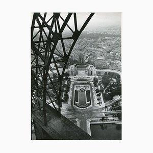 Torre Eiffel, París, 1955