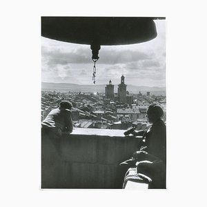 Civil War View from a Tower Pamplona, Spain, 1936