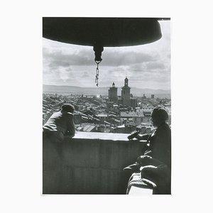 Veduta di una torre di Pamplona, Spagna, 1936