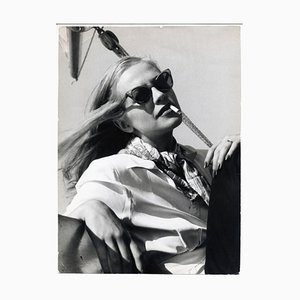 Hildegard Knef Chilling in the Sun, 1955