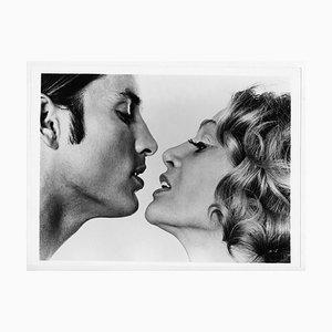 Sylvia Miles und Joe Dallesandro in Andy Warhol's Heat, März 1972