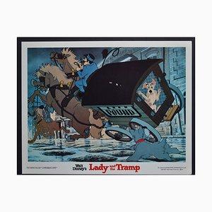 Carte de Vistet Lady and the Tramp du Film de Walt Disney, USA, 1955