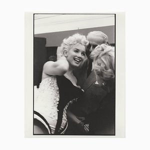 Marilyn Monroe Print of 1988 from Original Negative, 1955