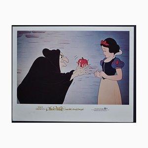 Snow White and the Seven Dwarfs Lobby Card of Walt Disney's Movie, USA, 1937
