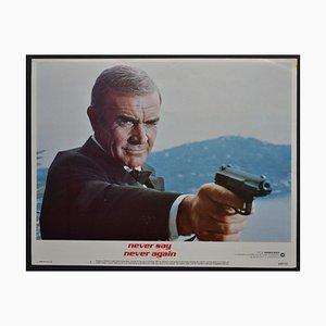 James Bond 007 Never Say Never Again Original Lobby Card, 1984