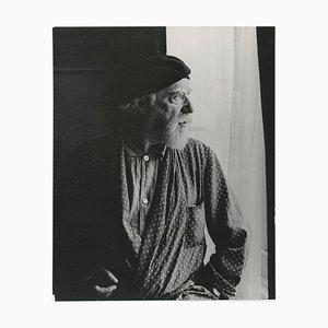 Portrait du Peintre Augustus John par Allan Chappelow, Angleterre, 1953