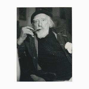 Portrait of Painter Augustus John von Allan Chapelow, England, 1953