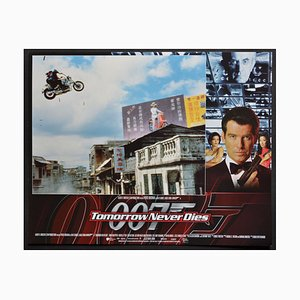 James Bond 007 Tomorrow Never Dies Original Lobby Card, UK, 1997