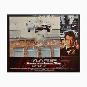 Tarjeta de vestíbulo James Bond Tomorrow Never Dies Original, UK, 1997