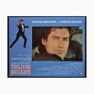 James Bond 007 the Living Daylights Original Lobby Card, UK, 1987