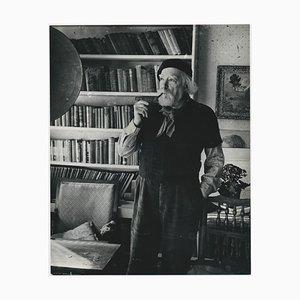 Ritratto del pittore Augustus John di Allan Chappelow, Inghilterra, 1953