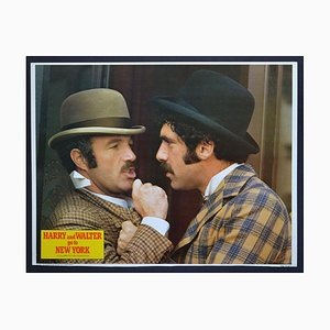 Harry and Walter go to New York Original American Lobby Card of the Movie, 1976