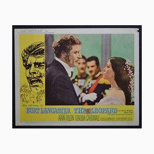 The Leopard aka Gattopardo il Original Amerikanische Lobbynummer des Films, 1963
