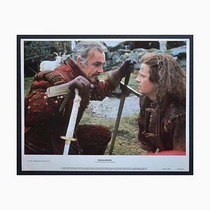 Highlander Original American Lobby Card of the Movie, États-Unis, 1986