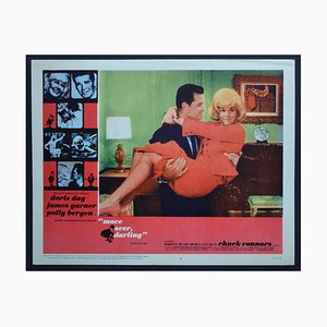 Move Over Darling Vintage American Lobby Card of the Movie, USA, 1963