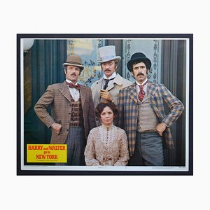 Harry und Walter gehen nach New York Original American Lobby Card of the Movie, 1976