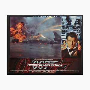 James Bond Tomorrow Never Dies Original Lobby Card, UK, 1997