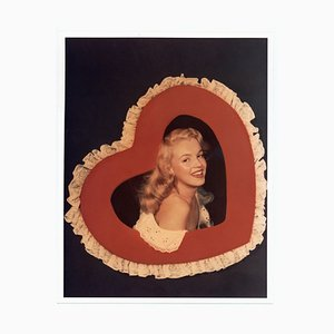Marilyn Monroe in a Heart Frame, 1947