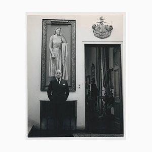 British Playwright W. Somerset Maugham, 1959