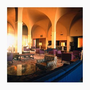 Hotel Lobbies, Rooms & Bars Hilton Hotel in Valetta, Malta, 1970s