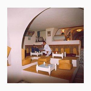 Vestíbulos, habitaciones y bares de hotel Hotel Salem Tunesien, Sousse, años 80