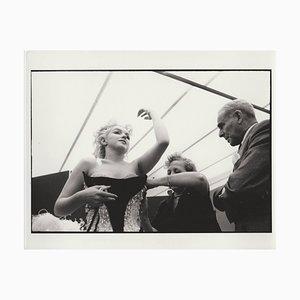 Marilyn Monroe Druck von 1988 von Original Negative, 1955