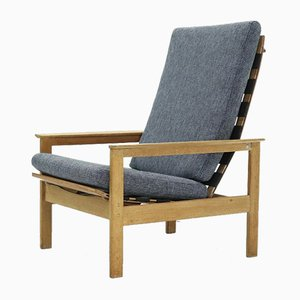 Belgian Modernist Lounge Chair by Georges-Charles Van Rijk for Beaufort, 1960s