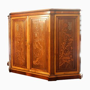 Large 19th Century Rosewood and Exotic Wood Buffet by Caldiwell