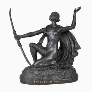 19th Century Orientalist Bronze Sculpture by Eugène L'Hoest