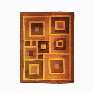 Geometrischer Teppich, 1970er