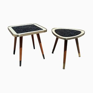 Small Danish Coffee Tables, 1960s, Set of 2