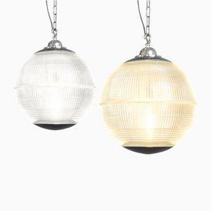 Parisian Globe Lamp from Holophane, 1950s