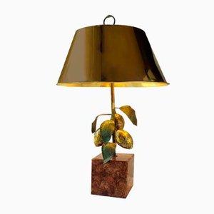 Lampe de Bureau Citron par Maison Charles, 1970s