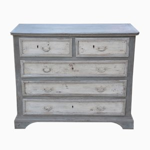 Antique Painted Chest of Drawers