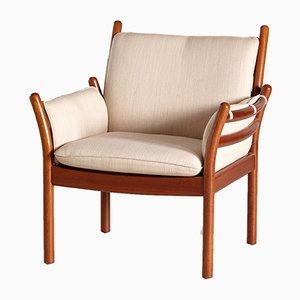 Vintage Genius Sessel von Illum Wikkelsø für CFC Silkeborg, 1960er