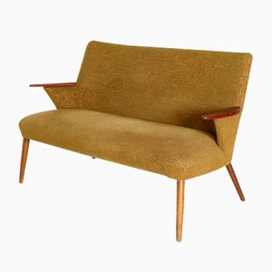 Vintage Danish Sofa with Textured Upholstery, 1960s