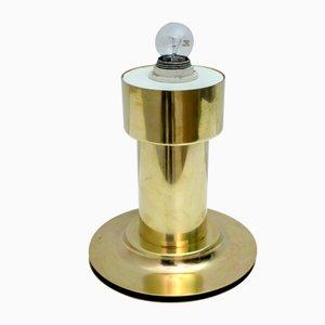 Italienische Mid-Century Modern Messing Tischlampe, 1960er