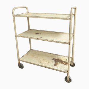 Industrial Shelving Kitchen Cabinet Trolley, 1960s