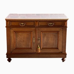 Antique French Marble Nr. 3 Cupboard, 1870s