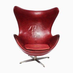 Egg chair nr. 3316 di Arne Jacobsen per Fritz Hansen, 1963