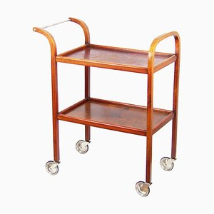Bar Cart Serving Trolley by Thonet for Fischel, 1940s