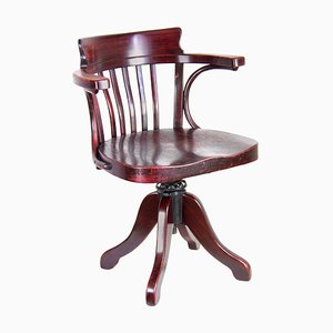 B690 Swivel Office Chair from Thonet, 1920s