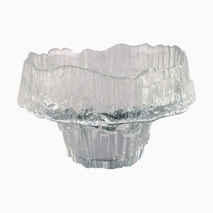 Art Glass Vase or Bowl by Tapio Wirkkala for Iittala, 1960s