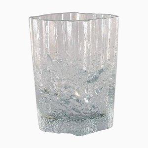 Finnische Kunstglas Vase von Tapio Wirkkala für Iittala, 1960er