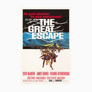 The Great Escape Poster by Frank McCarthy, 1963
