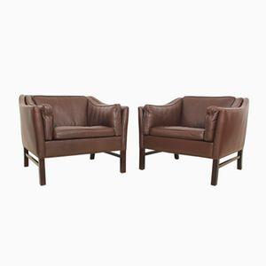 Danish Club Chairs from Grant Møbelfabrik, 1971, Set of 2