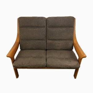 Danish Modern Teak 2-Seat Sofa, 1960s